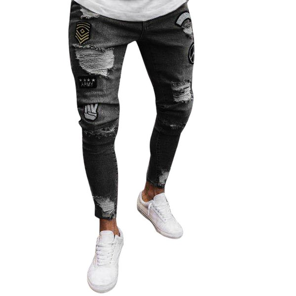 3xl Pantaloni Uomo Acquista 2019 Oversize Pantaloni Pantaloni Buco THnxC1qw
