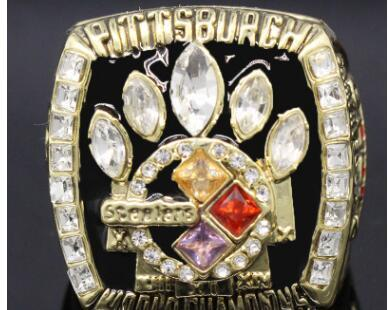 Wholesale New 2005 Steelers Super Bowl World Championship Ring Classic Popular Collection Jewelry Manufacturer Fast Delivery