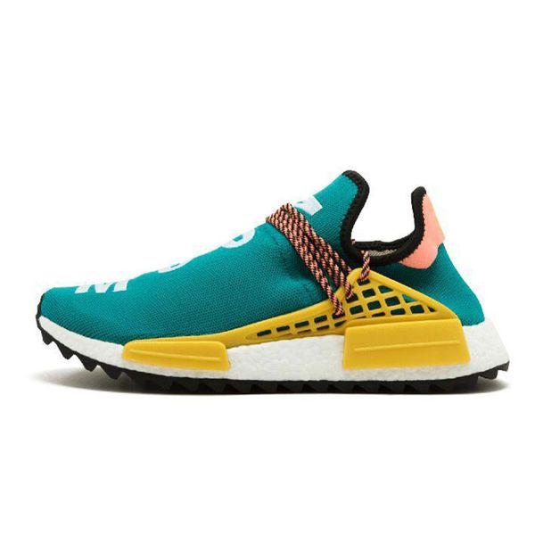 2018 yeni insan yarışı Pharrell Williams koşu ayakkabıları holi Eşitlik Boş Tuval çekirdek siyah güneş kadın erkek eğitmenler spor Sneakers