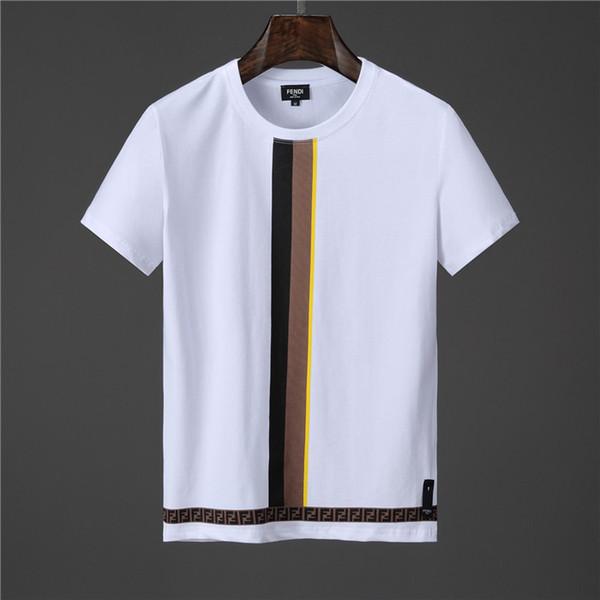 Summer Designer T Shirts for Men Tops Brand Shark Mouth Pattern Mens Clothing Short Sleeve Tshirt Mens Tops Streetwear Fashion Tide
