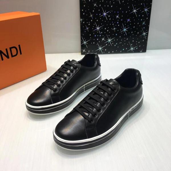 2019W nuevos zapatos casuales para hombres, zapatos deportivos para hombres de moda, zapatos para hombres de negocios, entrega de caja original