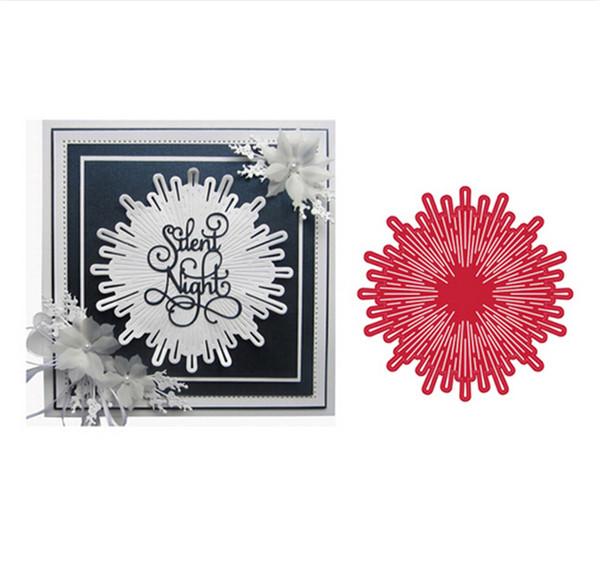 Diente de león Flores Forma Metal Corte muere Álbum de Scrapbooking Artesanías En relieve DIY Papel Fabricación de modelos Modelos decore
