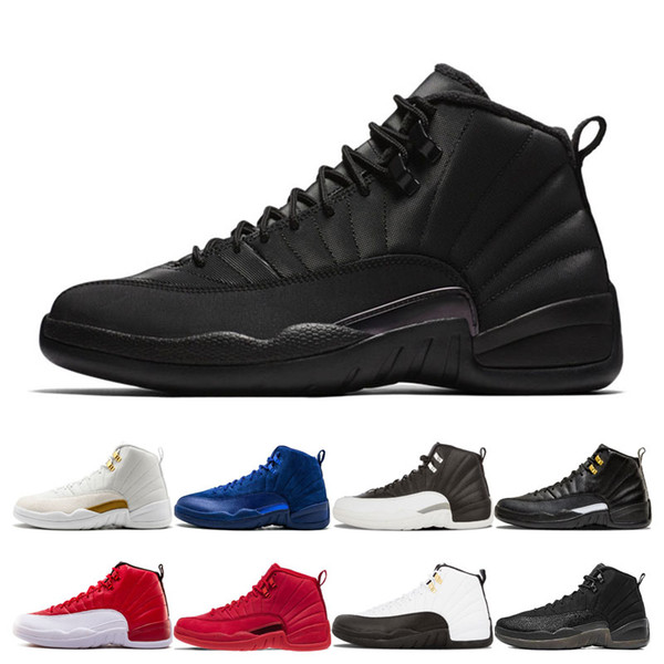 Top 12 Winterized Basketball Shoes for men 12s Designer cherry taxi playoffs Bordeaux Bulls College Navy Winterized Sport Sneakers Trainers