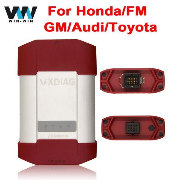 VXDIAG 7 in 1 for Toyota/G-M/Opel /Honda/Audi/VW/Ford/Mazda Diagnostic Tool Same TIS Techstream/IDS/VAS 5054A/Tech2/HDS/GDS