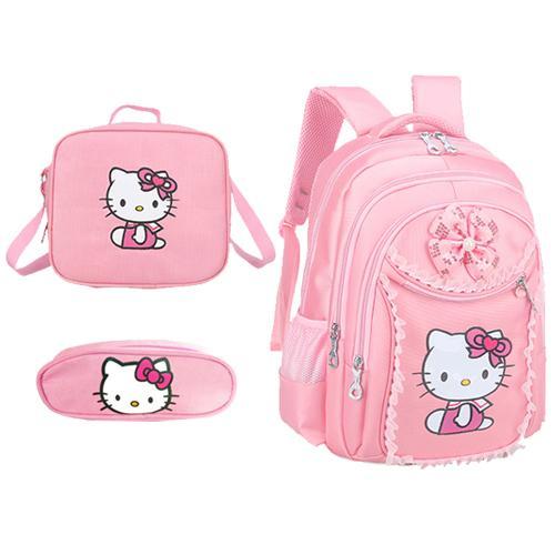 Pink C School Bag