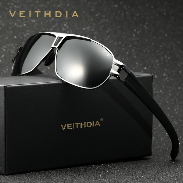 Veithdia diseñador de la marca gafas de sol para hombre gafas de sol Len polarizadas Gafas masculinas Accesorios para hombres gafas de sol masculino 8516SH190721