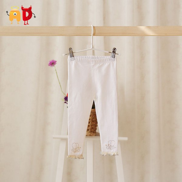 good quality Bees Pattern Baby Girl Pants 95% Cotton Soft Baby Tights Leggings Toddler Jumpsuit Child Baby Leggings Pants Clothing calca