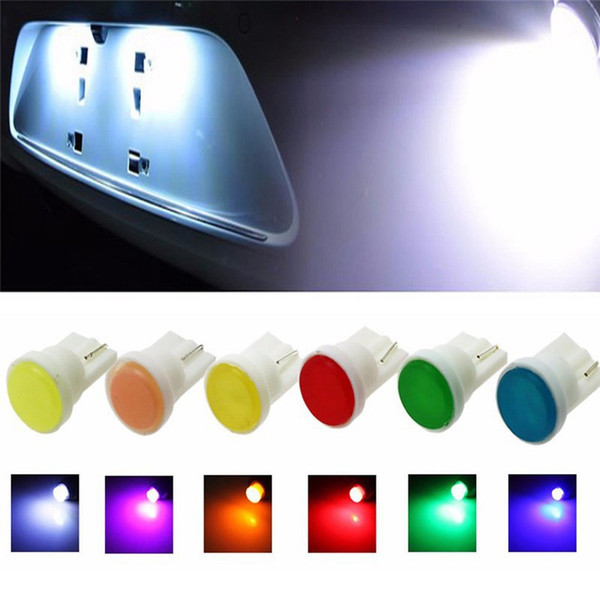 best selling Ceramic Car Instrument Side Lamp Car Styling Car Interior LED T10 COB W5W 168 Wedge Light Auto Accessories HHA122