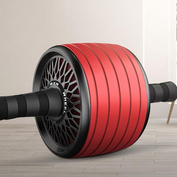 best selling Abdominal Wheel Roller Quiet Roller Practical Sport Fitness Equipment Abdomen Workout