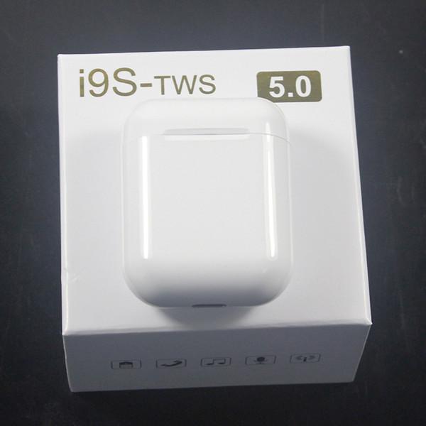 i9 i9s TWS cuffia senza fili stereo bluetooth 5.0 auricolari auricolari per IOS telefono Android + custodia protettiva in silicone custodia protettiva34