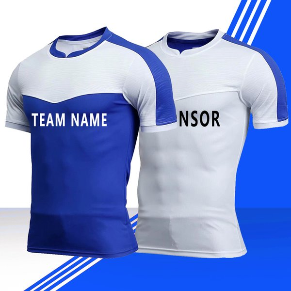 Customized Soccer Jerseys,Men's Tech Short Sleeve T-Shirt,Jogging Shirts With Short,Training Jersey,Athletic Tracksuit football shirts