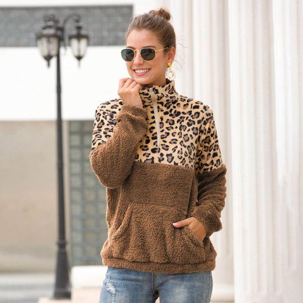 brown + brown leopard