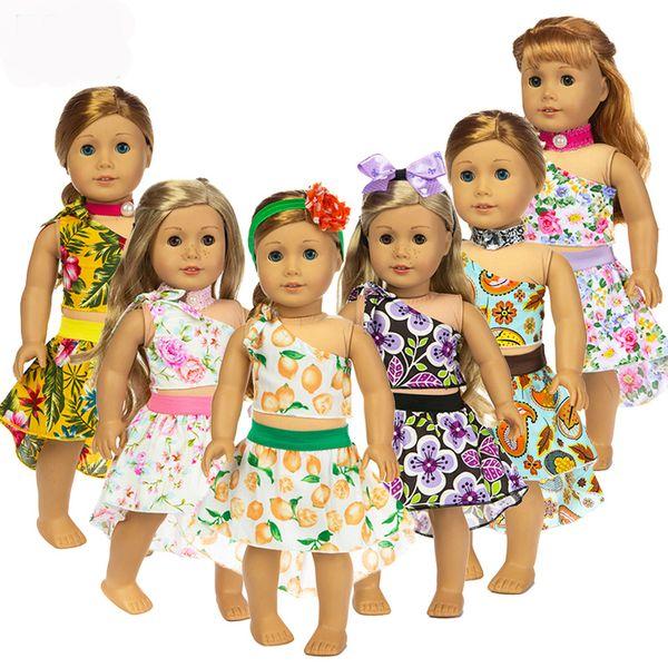 "Flower Set Dress Clothes fits for American girl 18"" american girl doll alexander,girl's dolls"