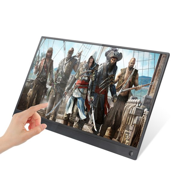 best selling Super Thin 15.6 Inch IPS Touch Screen For PS3 PS4 XBOX Car Use Portable Monitor For PC Laptop 1920 * 1080P HD LCD Screen