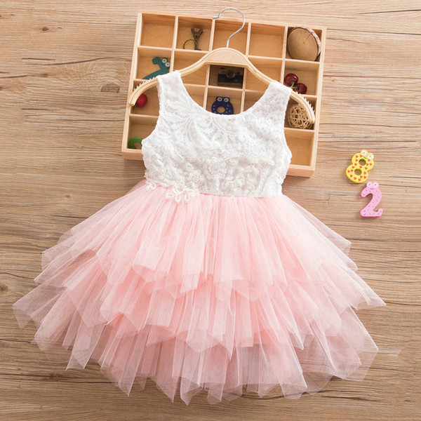 Summer Dresses For Girl 2019 Girls Clothing Princess Wedding Party Dresses Elegant Ceremony 4 5 6 Years Teenage Girl Costume
