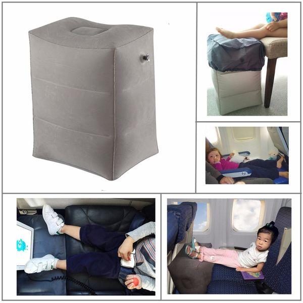 Date flocage avion oreiller gonflable voyage repose-pieds oreiller oreiller de vol pour les enfants dormir facile se pliant livraison gratuite C18112201
