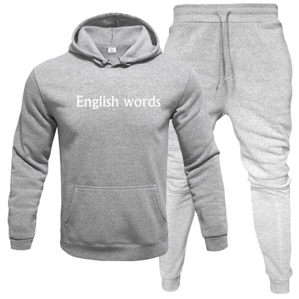 Grau mit Worten