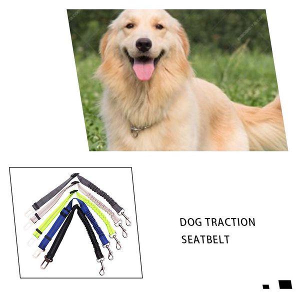 Cinto de segurança Leash Clip Pet Dog Car Cinto Segurança Dog Safe Universal Nylon Seat Belt