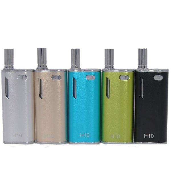 H10 Original Hibron Electronic Cigarette Vape Pen Starter Kit 650mAh Battery Box Mod Ecig New Upgrade CE3 Atomizer Vaporizer DHL Free