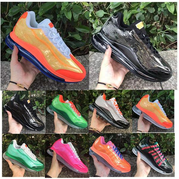 2020 Hot Builder Heron Preston 3D pour Hommes Femmes Chaussures de course Bleu Kamika Jaune Orange Noir Rose Hommes Baskets Sneakers 36-45