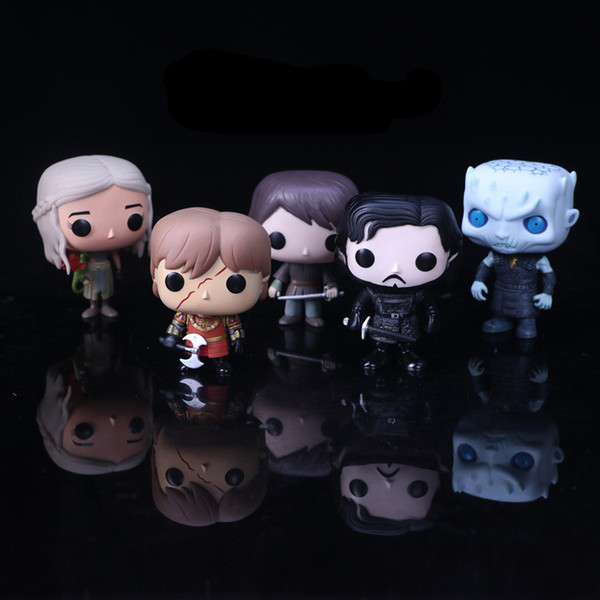 Hot Movie Game of Thrones Jon Snow Daenerys Tyrion Ghost All Kinds of Action Figure Toys Model Gift Doll