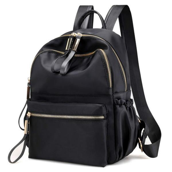 2019 nouvelles femmes sacs à dos imperméable en nylon sac à bandoulière pour femme tout correspondant sac à dos décontracté dames sac quotidien voyage sac à dos