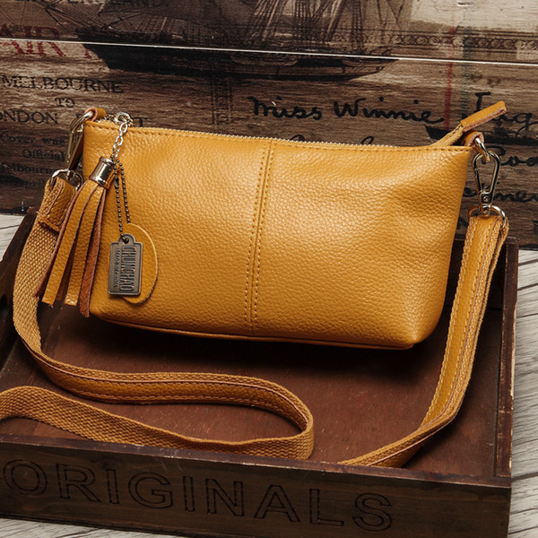 Shoulder Brand Women Genuine leather Crossbody bag & Shoulder Female Messenger Bag Women's Fashion small bags