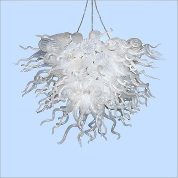 China Supplier Colored Hand Blown Glass Pendant Light Diy Modern Blown Glass Chandeliers Turkish Style Long Chandelier Lighting Hanging Fixtures