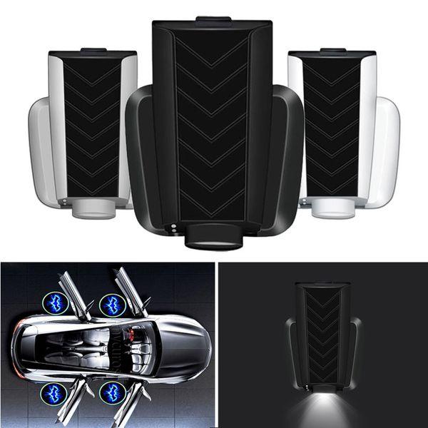 USB Şarj Kablosuz Araba Kapı Hoşgeldiniz Işıkları LED Projektör Işık Logo Hayalet Gölge Led Lamba Audi GM BMW VW Nissan Toyota
