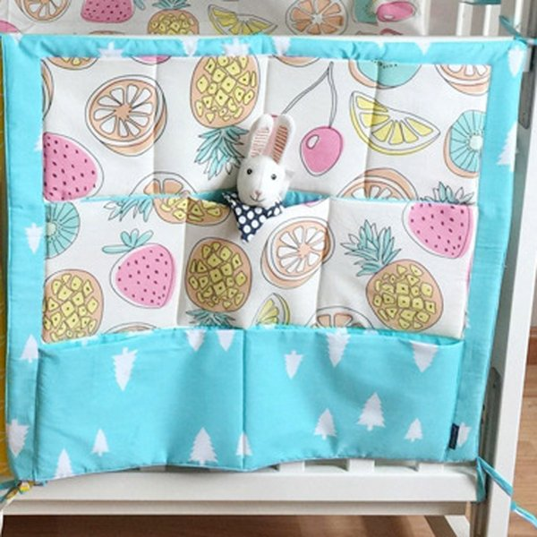 Free Shipping Multi-functional 55*60cm Baby Safe Sleeping Baby Bed Bumpers Soft Baby Cot Bed Hanging Storage Bag