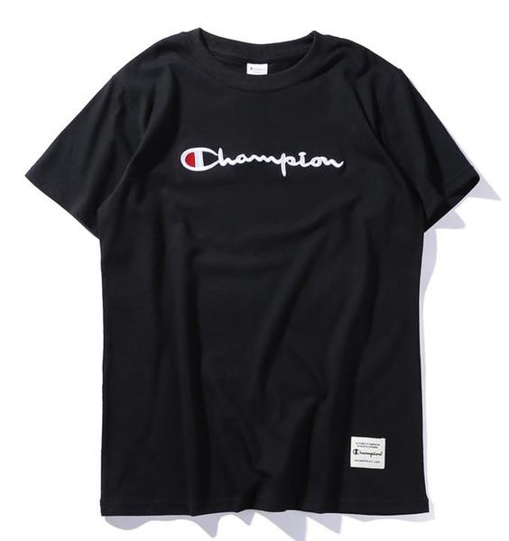 High T Stil7 End Internationaler Neuesten ShirtSchwarz Farben Stickerei 2019 2xl Damen Champion Jacke Von Herren Großhandel Designer Weiß XiukOPZ