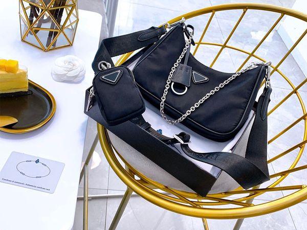 best selling 2019 new shoulder bags handbags High quality Crossbody bag Heart-shaped decoration Tarpaulin Nylon bag wholesale Shopping Bag
