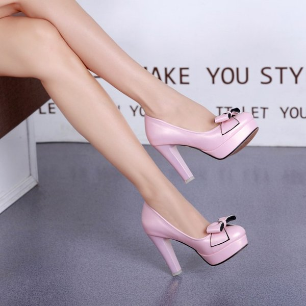 new popular Free sample china wholesale basic pumps high heels bow wedding shoes waterproof bride shoes for women shoes