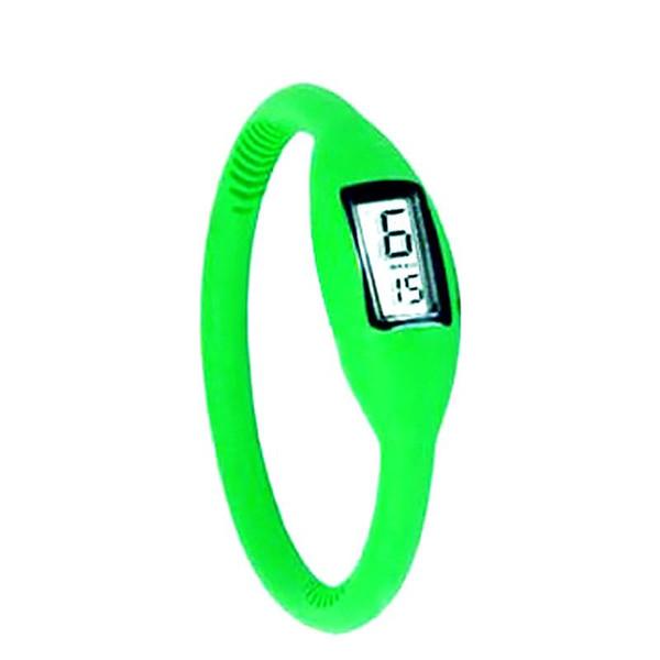 Vigilanza del silicone orologio bello Orologi per le donne 16 colori moda NUOVO anione polso di sport della vigilanza del braccialetto delle donne digitali degli uomini LED