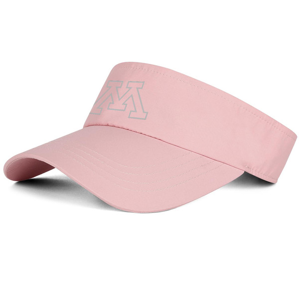 1Minnesota Golden Gophers gray logo pink man tennis hat truck driver cool fit custom hat sports retro custom cap unique personalized t