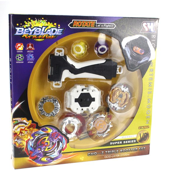 top popular Tops Launchers Beyblades Arena Spinning Top Fight Bey Blade Metal Bayblade Stadium Classic Toy For Child Y200703 2020