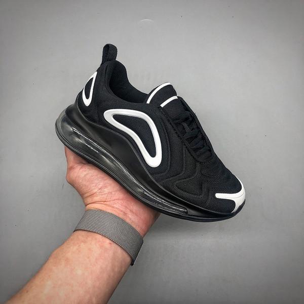 Acheter Nike Air Max 720 Chaussures De Course Ultra De Choc Maxes Bleu Marine Turquoise 2018 Enfants Jeunes Hommes Flair Formateurs Femmes Fly