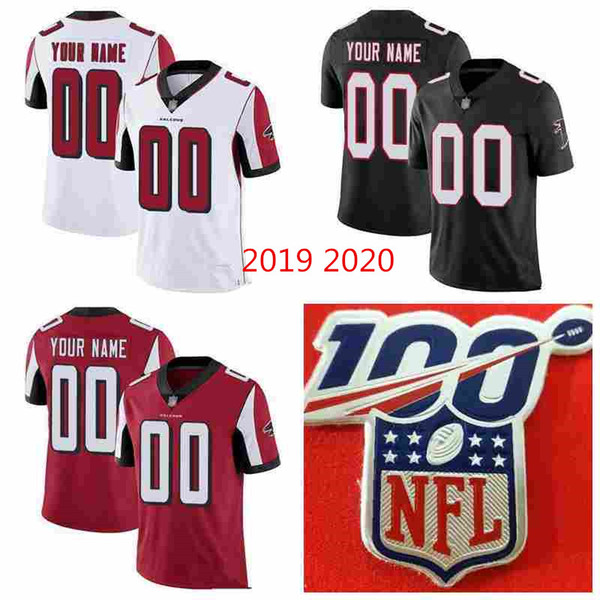 2020 2021 hot custom kids Men's women youth High Quality Any Name Number shirts AtlantaFalconsJersey white red black hockey Jerseys