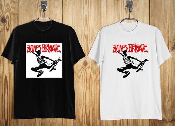 Neues Knochenbrigadesommerausflug 87 das T-Shirt der Männer Schwarzes WhiteFunny freies Verschiffen Unisexbeiläufiges T-Shirt
