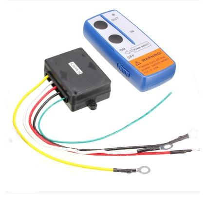 24V Wireless remote control for Electric Winch for truck ATV Warn Ramsey With Receiver Tire Repair Tools