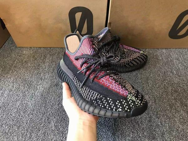 (С коробкой) Дешевые Мужчины Женщина Yecheil кроссовок на продажу YECHEIL Мода Неотражающего И 3M Reflective Sneaker Size 5-13