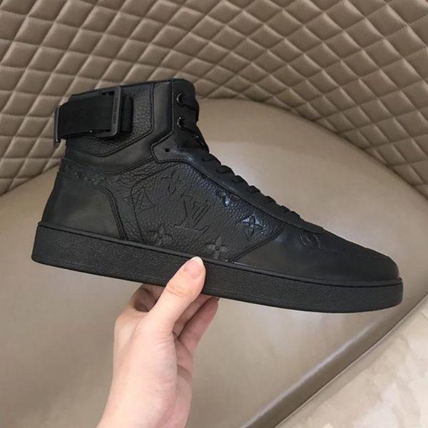 Drop Ship Rivoli Sneaker Stiefel Männer; S Schuhe im Freien zu Fuß Bequeme Schuhe Weinlese-Leder-Spitze -Bis beiläufige Herren Schuhe Chunky Snekaers