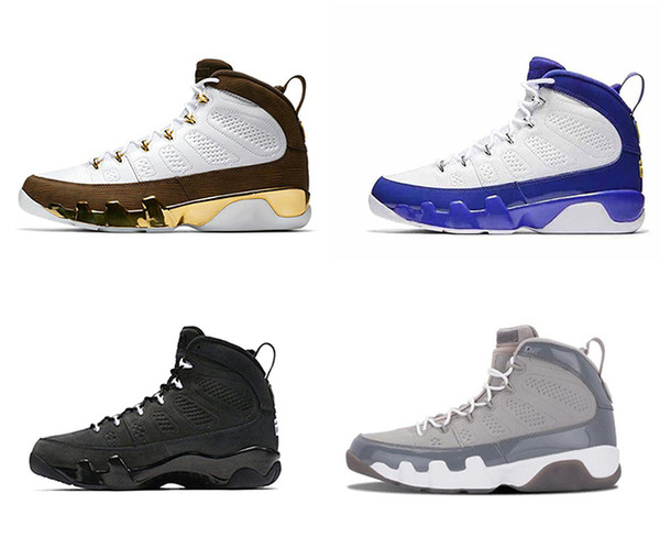 top popular HOT High Quality Basketball Shoes 9 Dream It Do It UNC Bred Space Jam Men 9s Tour Yellow PE Spirit Anthracite Sneakers With Box 2019