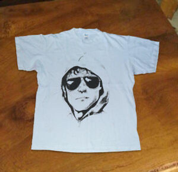 Unabomber Göğüs Unisexuvenir Tişört. Vintage Tek Dikiş 1996