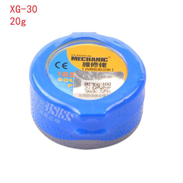 Suministros de soldadura Flujos de soldadura Flujo de pasta de soldadura -80 -50 XG-30 XG-Z40 Soldadura de estaño Sn63 / Pb67 Para el circuito de soldadura Hakko 936 TS100