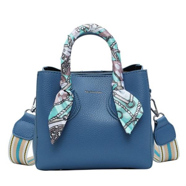Design di lusso borsa delle donne della progettista del sacchetto di alta qualità ad alta capacità singola spalla Messenger seta sciarpa di modo di Newset