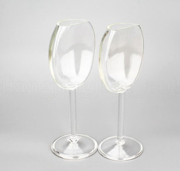 Another Goblet Glass Half Red Wine Valentine's Day Party Romantic Couple Cup Wine Glass Goblet LJJK1169