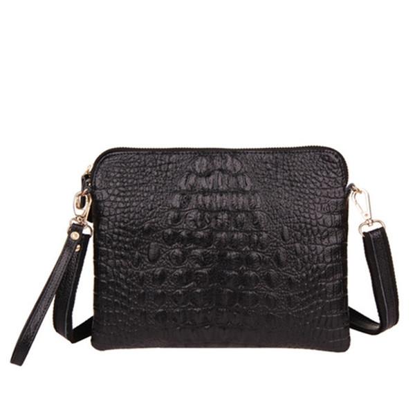 New Promotion fashion PU Leather Crocodile pattern Women Handbag Shoulder Bag female Messenger Bag ladies Day Clutch #235895