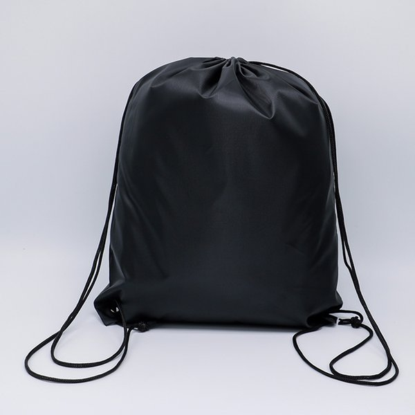 7443d0299482 2019 12 Styles Pull String Bags 210D Polyester Cloth Drawstring Bulk Bag  Sport Gym Dance Cinch Sacks Backpack Adults Kid Folding Storage Bag M34F  From ...