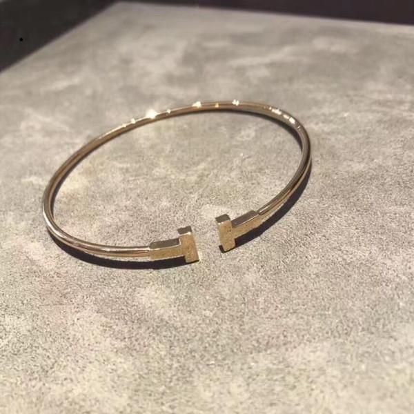clous en acier de titane bracelet taille pour anneau de bijoux de marque femmes et les hommes nouveaux -80 meilleur Qu